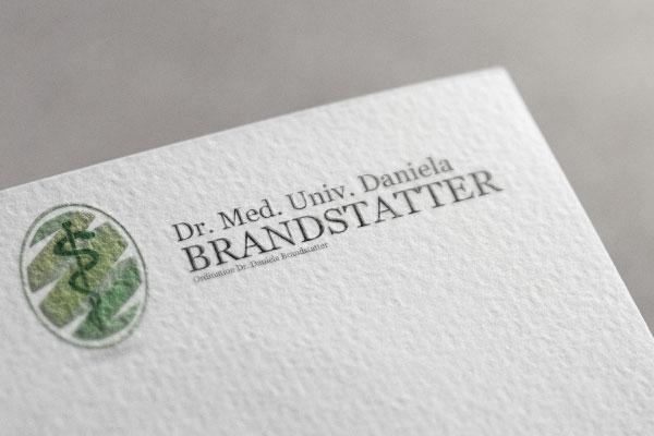 Izdelava logotipa za ambulanto Branstatter.