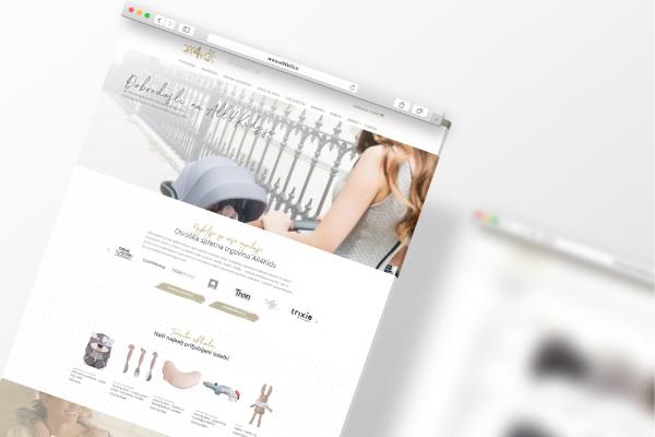 Redesign spletne trgovine All4Kids.si