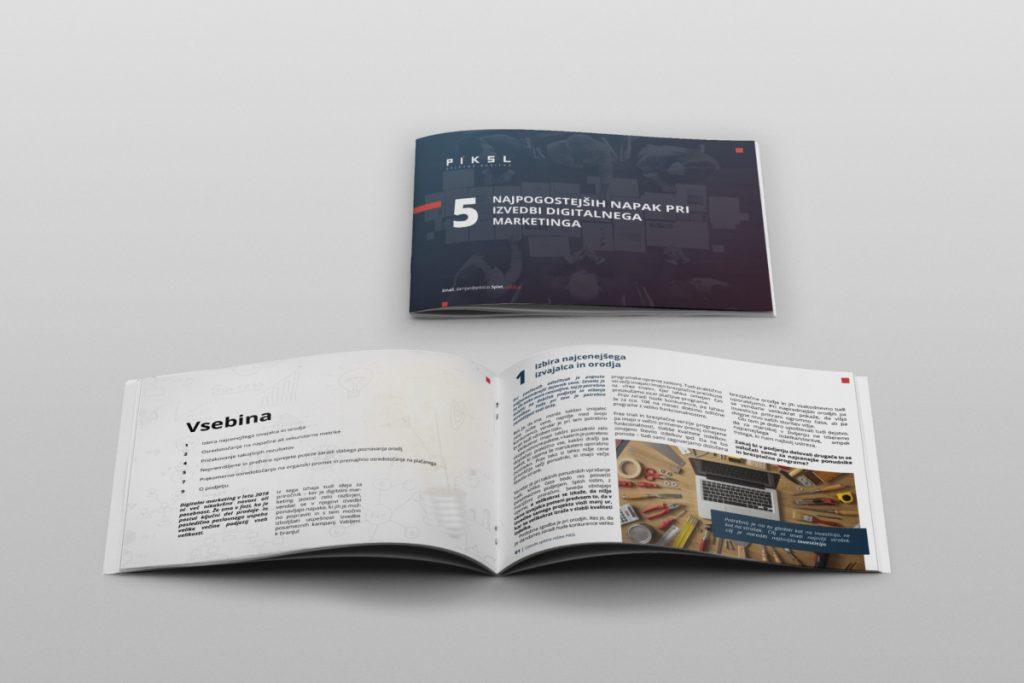 Oblikovanje e knjige pregled PIKSL.