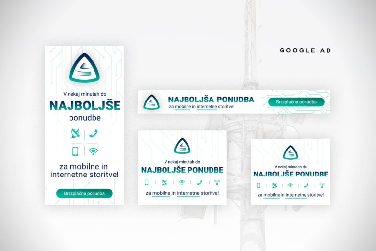 Google Ad reklamne pasice Optispin