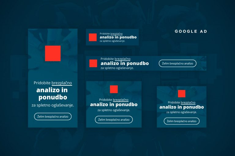 Oblikovanje reklamnih pasic Piksl