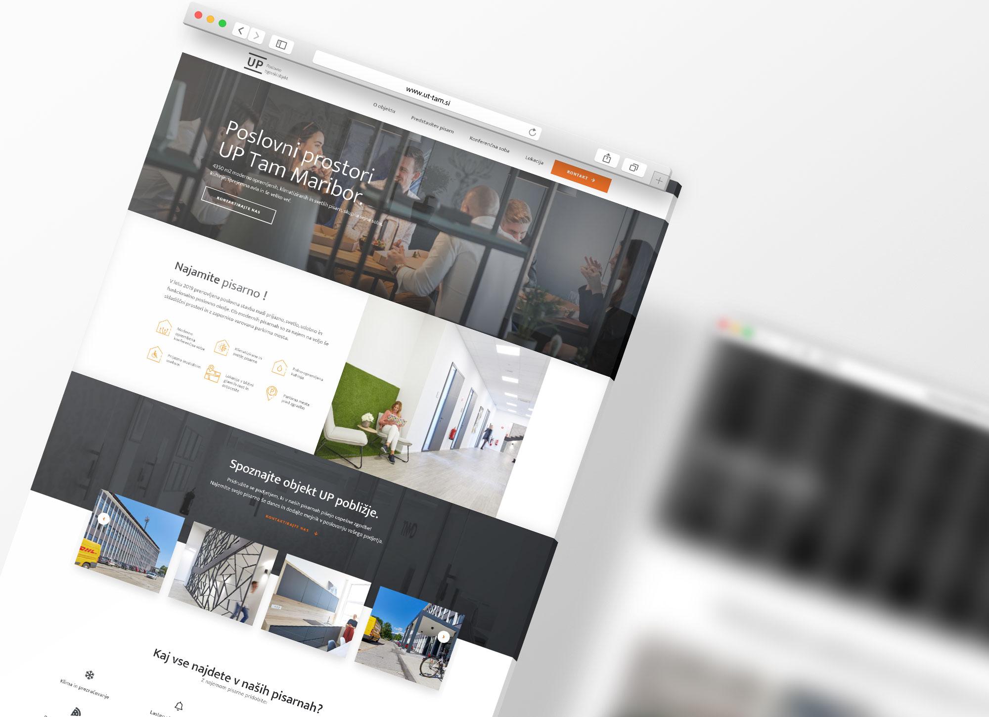 Izdelava spletnih mest za poslovni prostor UP