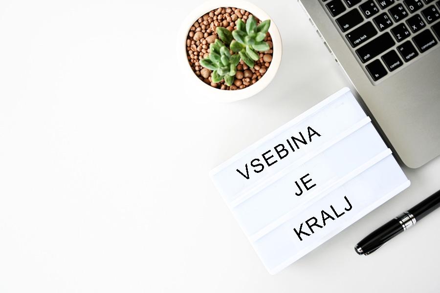 Zakaj imeti blog - vsebina