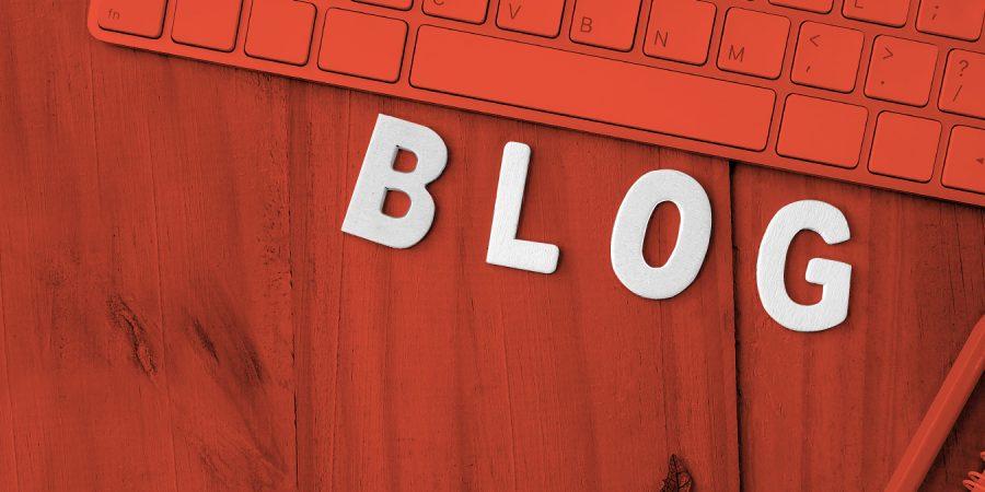 Blog na spletni strani